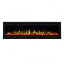 Provence 1500W 72 inch Recessed / Wall Mounted Electric Fireplace