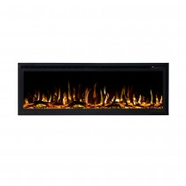 Concerto 1500W 50 inch Recessed / Wall Mounted Electric Fireplace