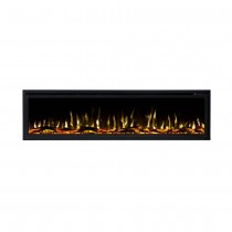 Concerto 1500W 65 inch Recessed / Wall Mounted Electric Fireplace